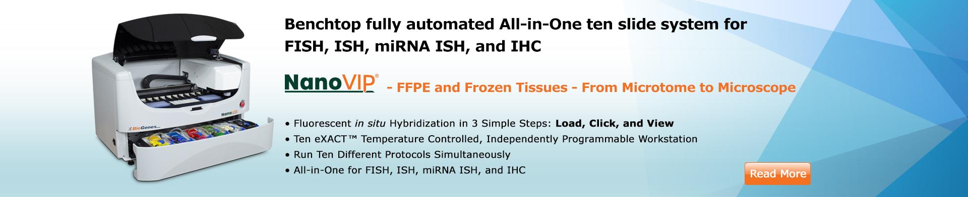 Fluorescence In Situ Hybridization (FISH)/ISH/miRNA/In Situ PCR Automated Instrument